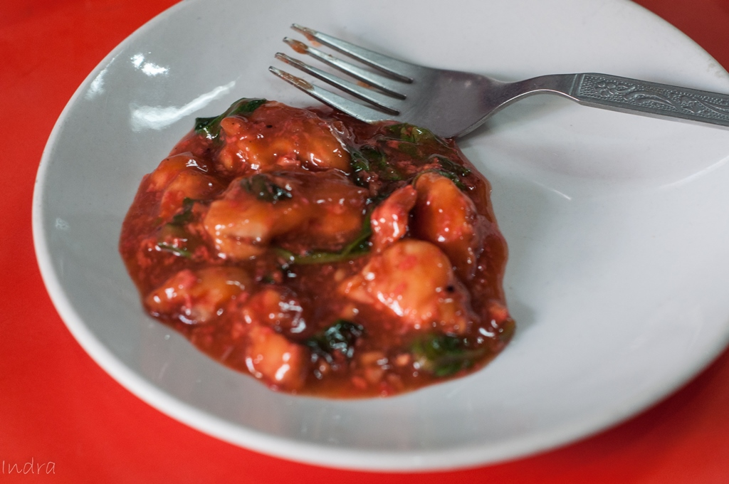 Chicken with chinese red wine 2