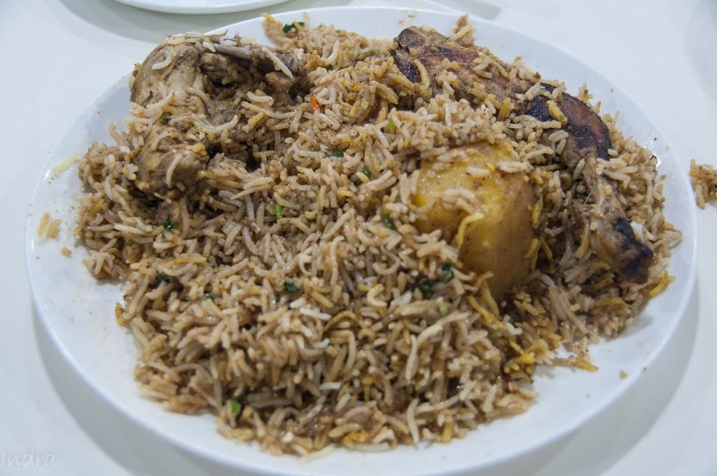 Chicken spicy biryani