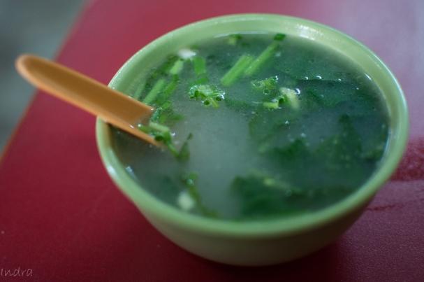 Light clear soup