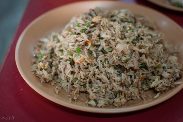 Mixed schezwan fried rice
