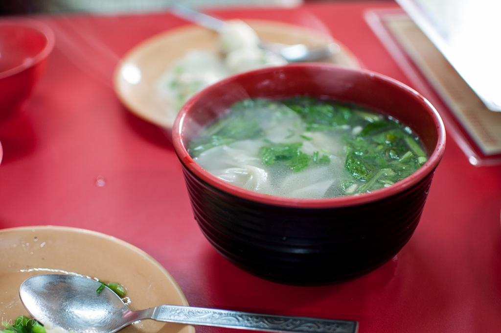 Pork wanton soup
