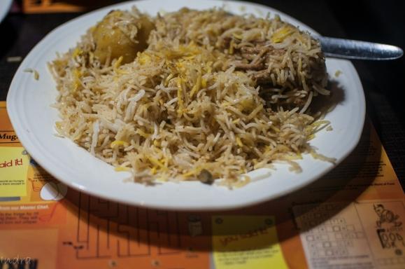 Zeeshan- chicken biryani