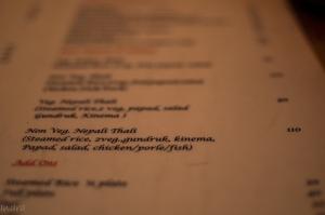 nepali non-veg thali