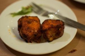 Fish tikka kabab