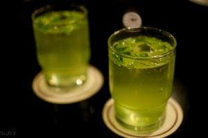 Cucumber-curry leaves lemonade