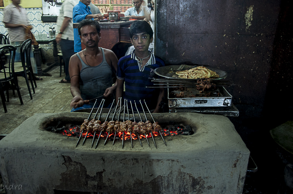 Bombay tea house beef boti kebab