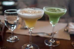 Mango martini and Kiwi and black peeper martini