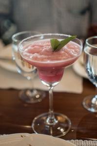 Melon and mint martini
