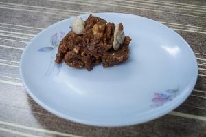 Ghond ki halwa from haji allauddin sweets