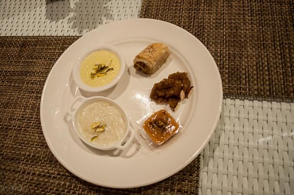 kheer-semiya, phirnee, baklava, anjeer ki halwa, khubani ka meetha