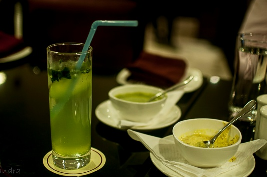 Cucumber-curry leaves lemonade