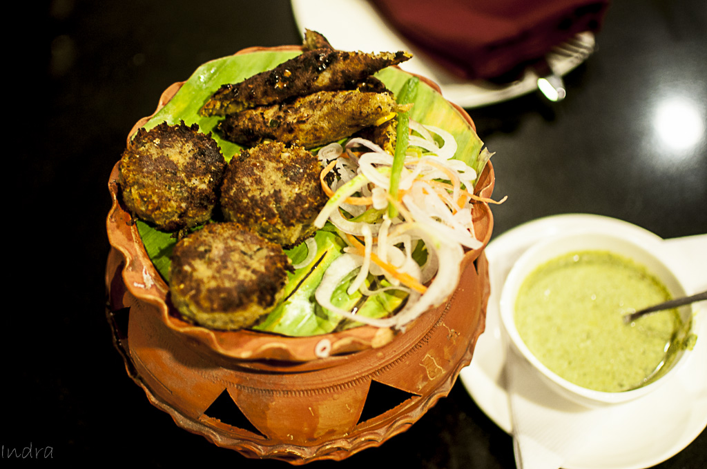 Vegetable shami kebab