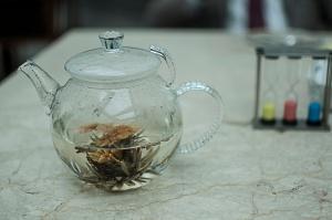 The jasmine tea