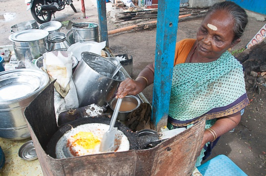Egg Dosa maker