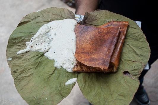 Cheese butter masala dosa