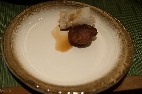 Assamese dessert - steamed pitha and fried pitha