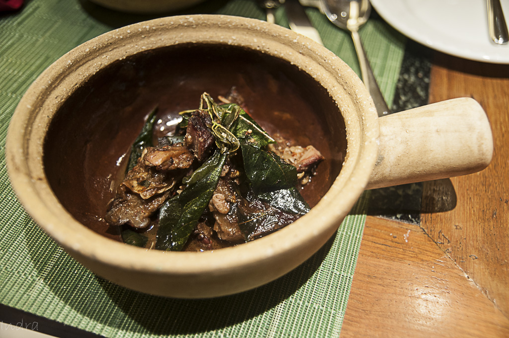 Smoked pork with fermented soya bean