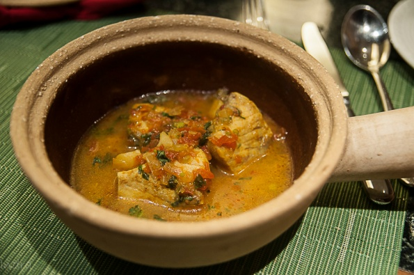 Betki fish in sour curry